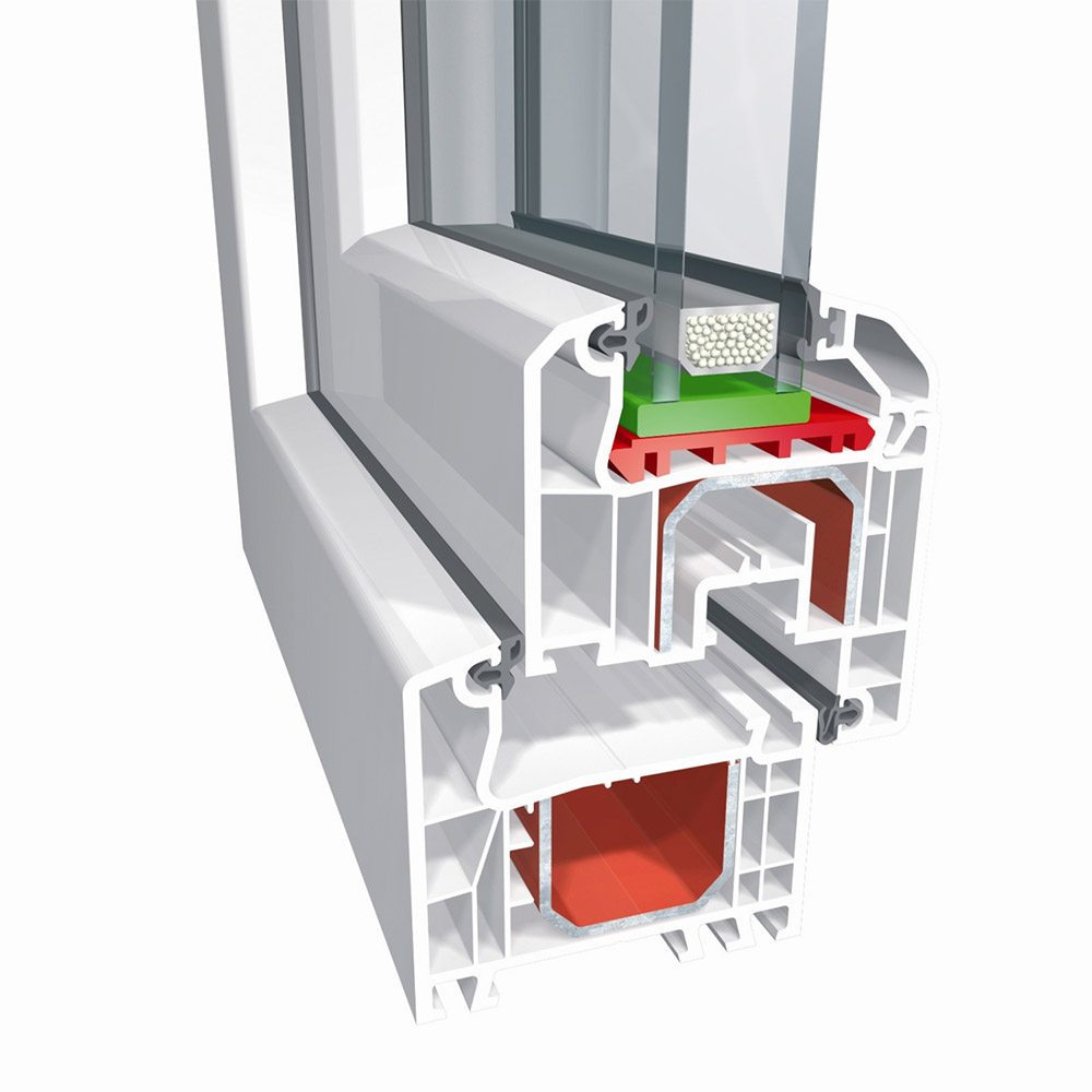 Aluplast ideal 4000 ablak