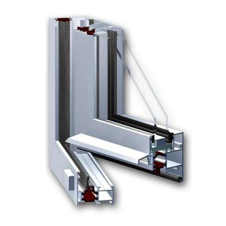 Aluprof MB 59S hőhídmentes alumínium ablak