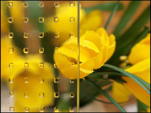 Aluplast üvegminták
